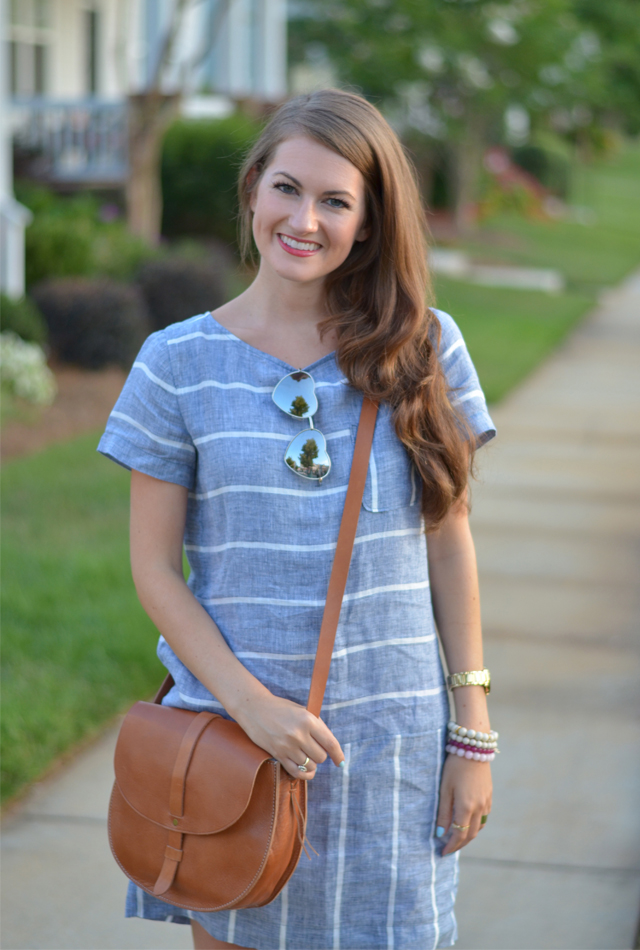 Perfect chambray dress for summer