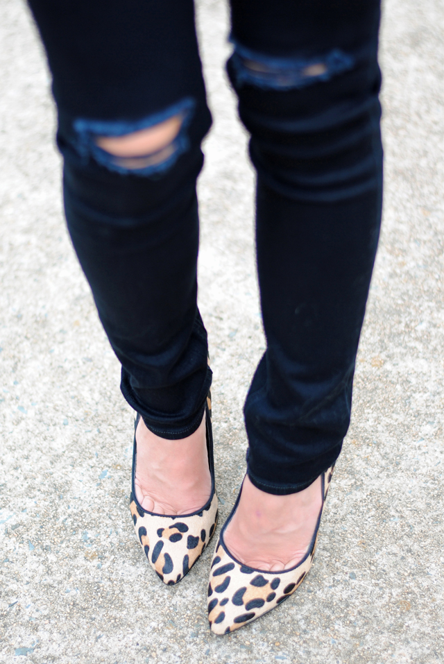 Love these leopard heels from Nordstrom