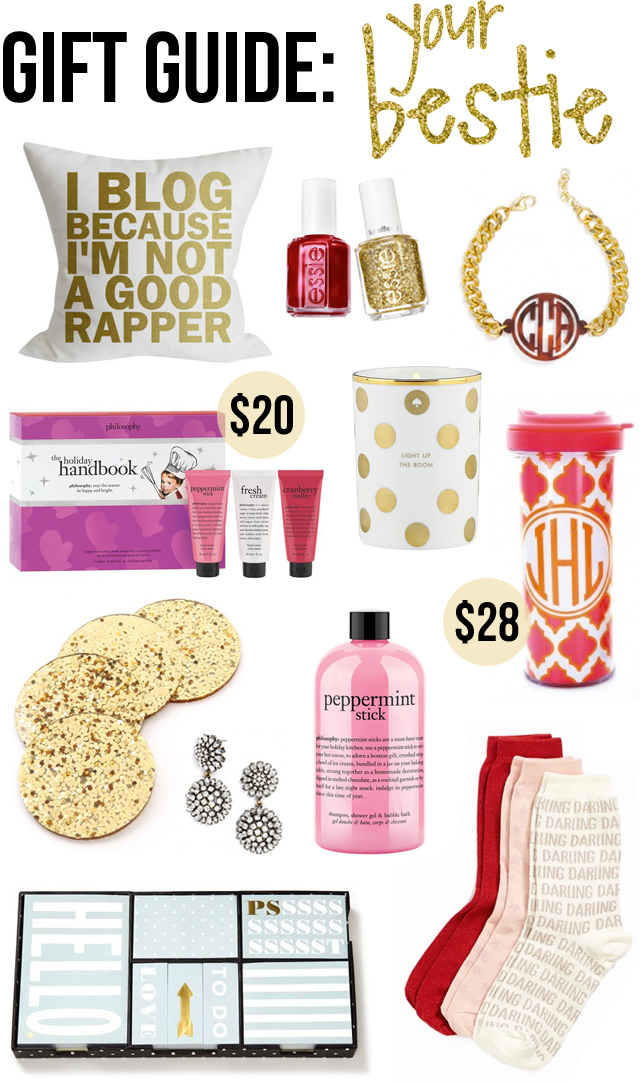 Gift Guide: Your Best Friend (Under $50!) – Southern Curls ...