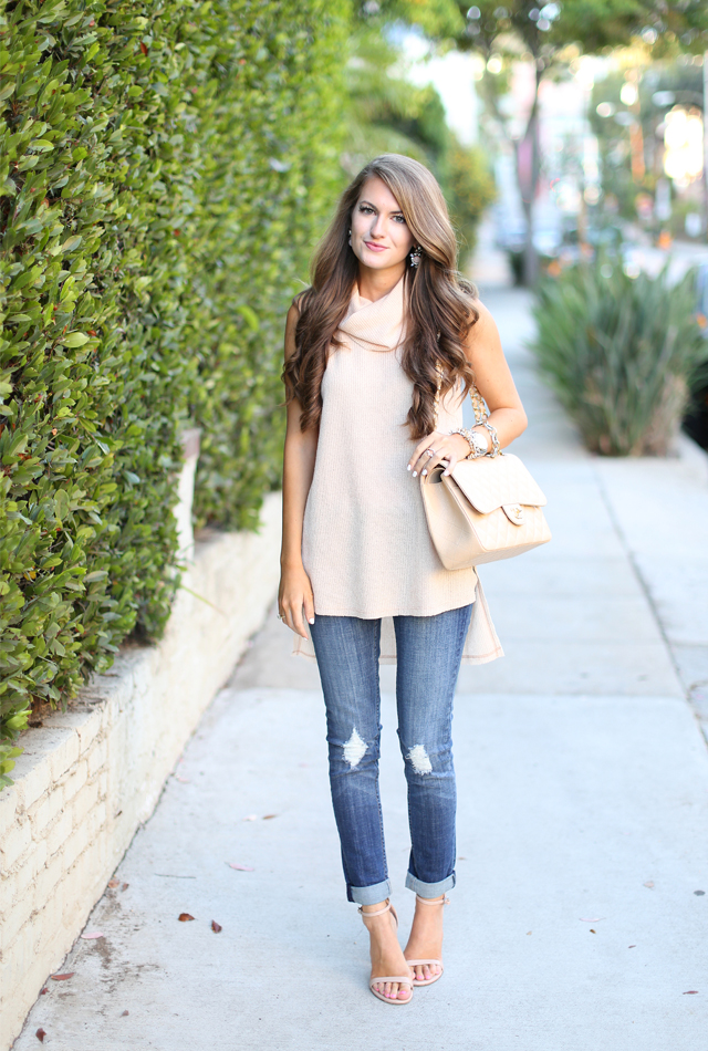 Distressed jeans for less than $60