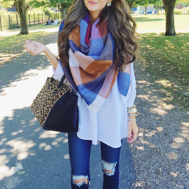 Perfect blanket scarf
