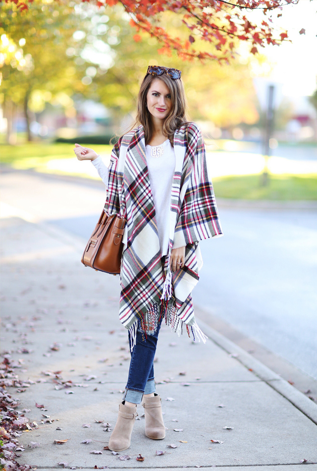 Fall poncho inspiration