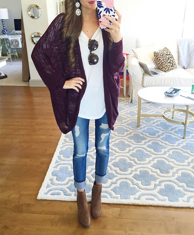 Perfect casual fall outfit