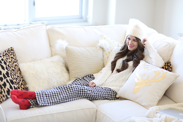 b29446091 Cozy at Home with J.Crew Factory – Southern Curls & Pearls