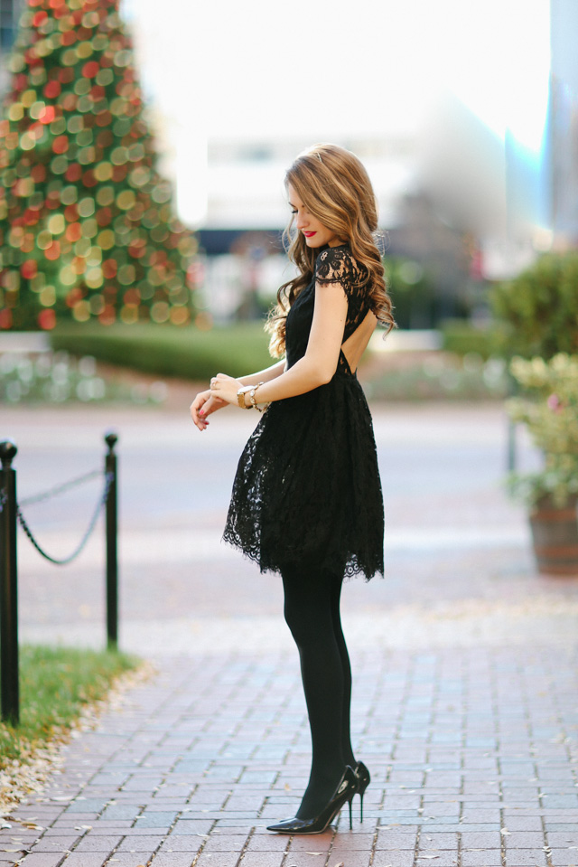 d33f40a46178 Little Black Party Dress… – Southern Curls & Pearls
