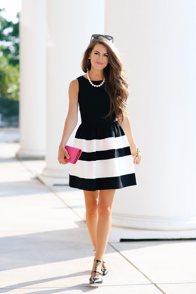 Black and White Dresses to Wear to a Wedding
