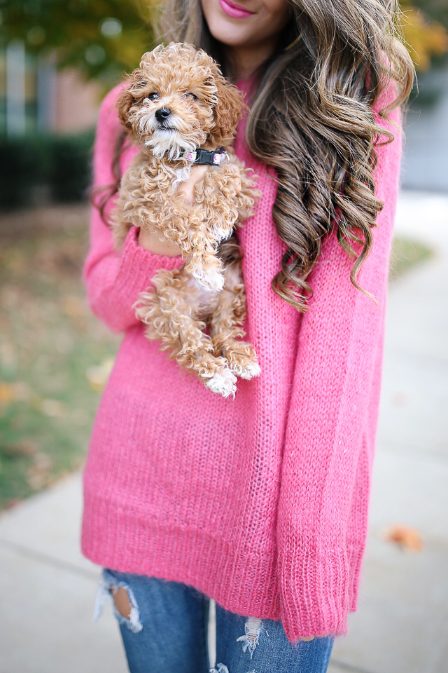 068b896a938 Hot Pink Sweater – Southern Curls   Pearls