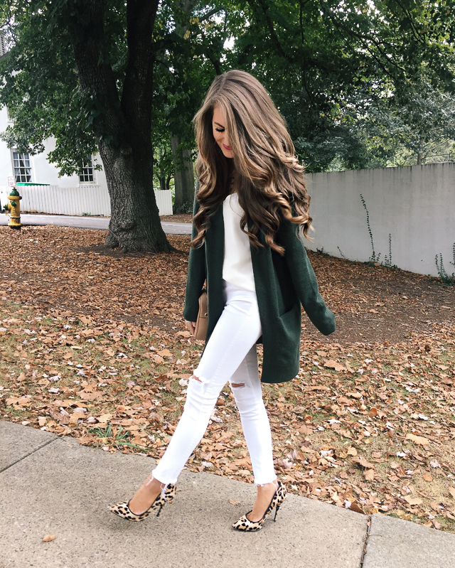 White on white in the fall