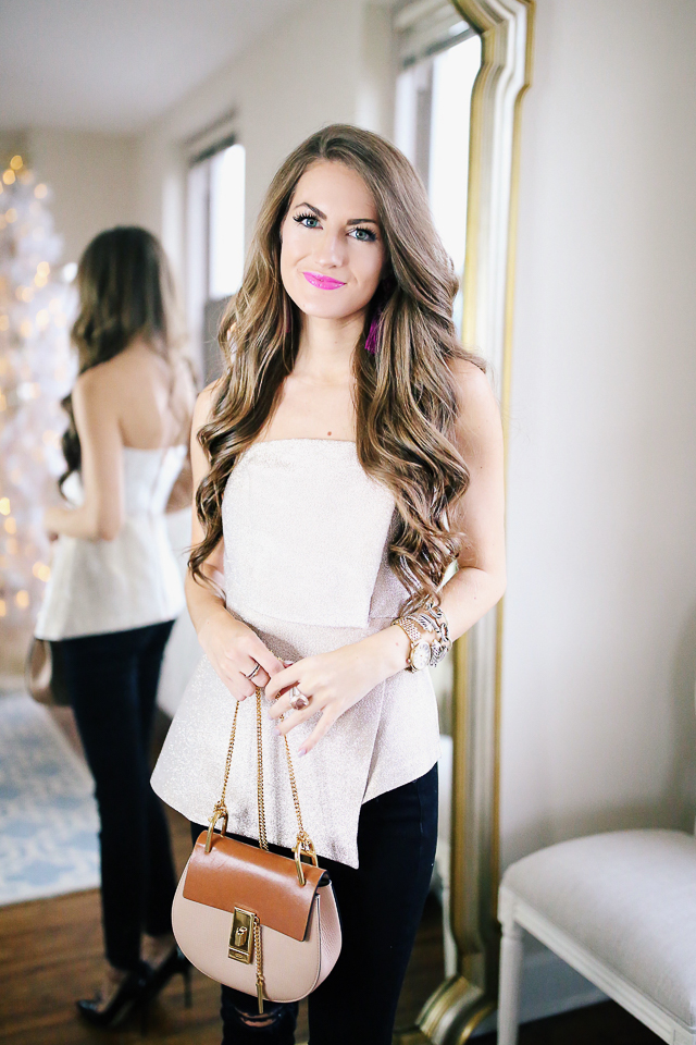 52e9ea554e9c Get Ready With Me for a Holiday Party – Southern Curls & Pearls