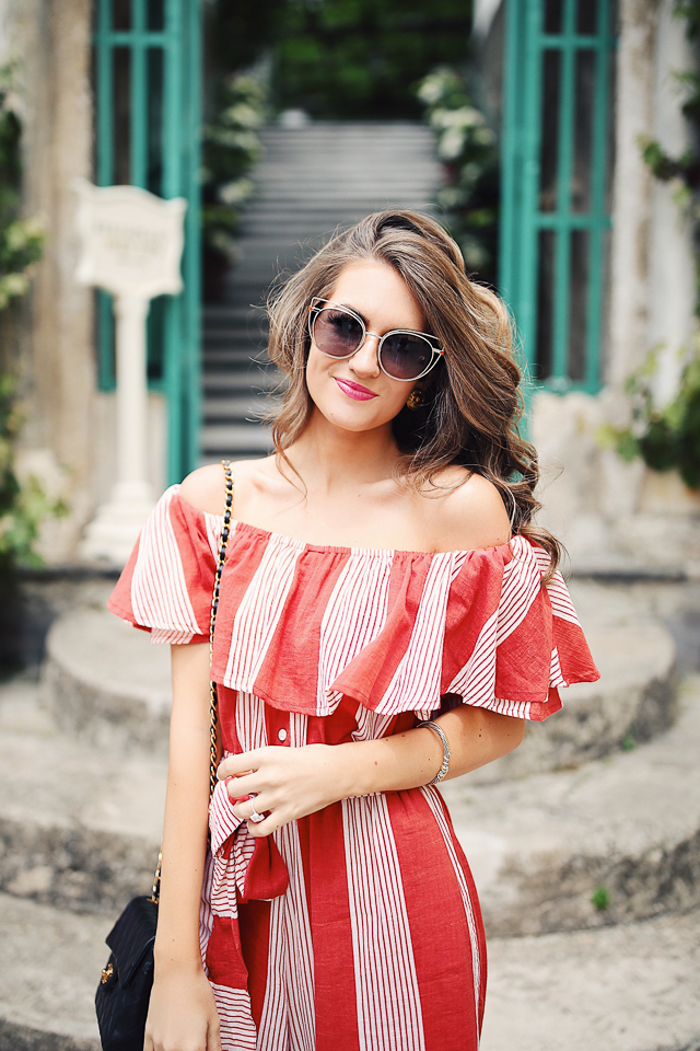 07953c1b2e57b Striped Jumpsuit in Ravello – Southern Curls   Pearls