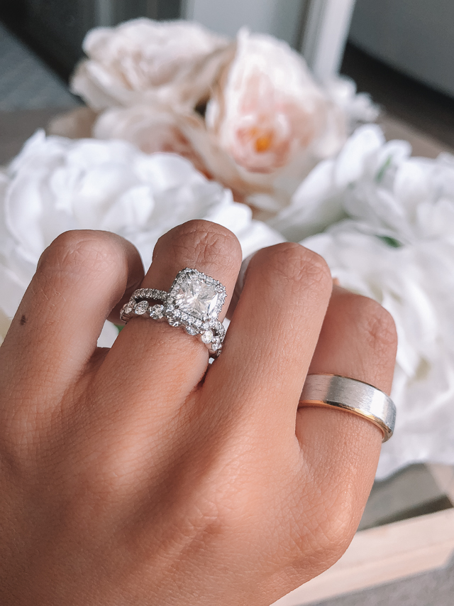 Beautiful Wedding Rings.Our Wedding Bands Southern Curls Pearls