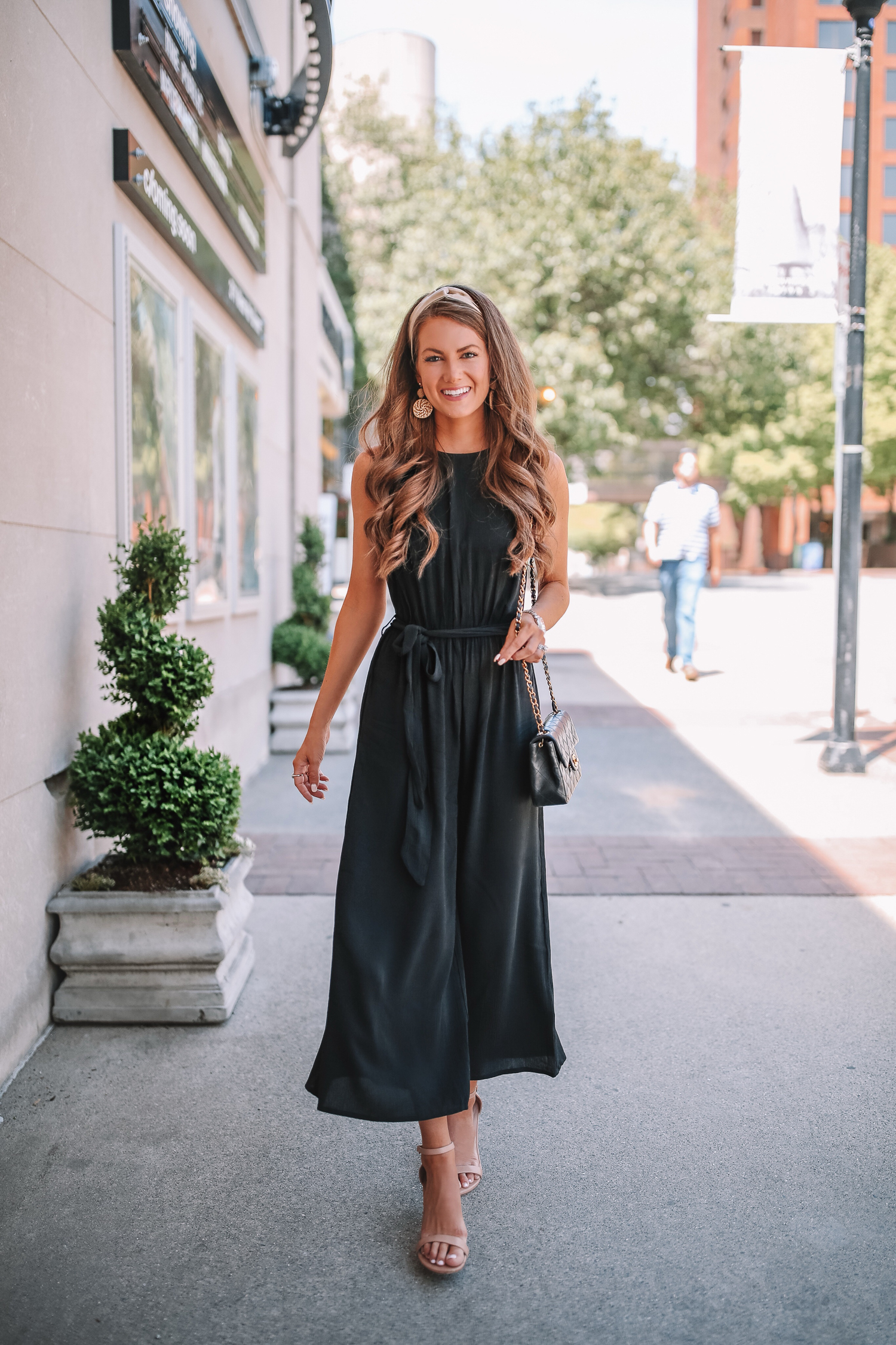 08d7bb4868 Black Jumpsuit for Date Night – Southern Curls   Pearls