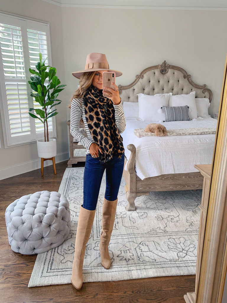 Nordstrom Anniversary Sale Sole Society Leopard Print Blanket Scarf