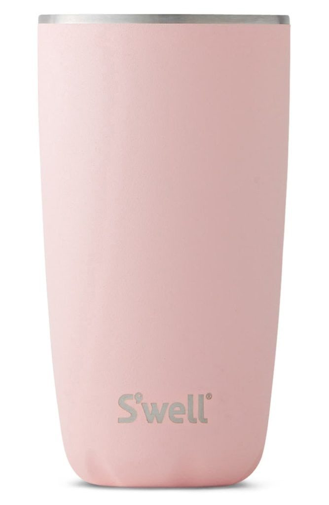 Swell pink topaz 18-ounce insulated tumbler