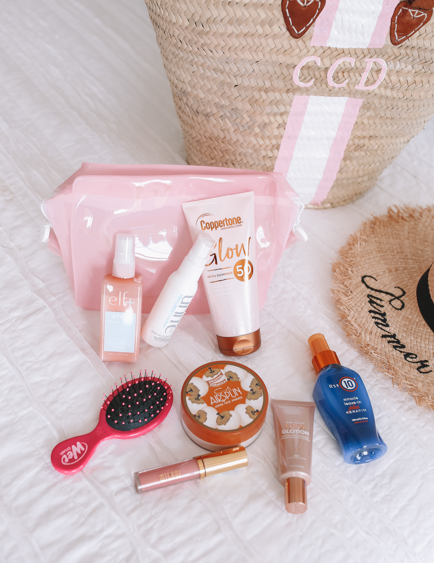 Pack with me for the Beach – Southern Curls & Pearls